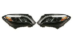 Left And Right Genuine Dynamic Led Headlights Lamps Pair Set For Mb W222 Code 640