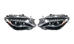 Left And Right Genuine Dynamic Led Headlights Lamps Pair Set For Mb W222 S-class