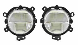 Front Left And Right Hella Fog Lights Sae Pair Set For Mini F54 F55 F56 F57 W/ Led