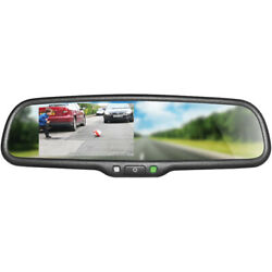 Boyo Vtm43m Replacement Rear-view Mirror W/ 4.3 Tft-lcd Backup Camera Monitor