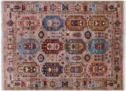 Fine Turkmen Ersari Hand-knotted Wool Rug 5and039 2 X 6and039 9 - Q10146