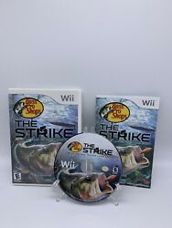 Bass Pro Shops The Strike - Nintendo Wii - Complete Cib - Tested And Working