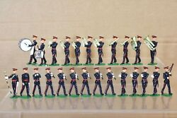 Britains Re Cast Wwii 25 X Guards Regiment In Dress Uniform Marching Band Nq