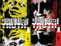 Department Of Truth 1 Final 6th Print Variant Set 2 125 And Reg Image Nm 7/28