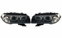 Pair Set Of Left And Right Genuine Bi-xenon Headlights Lamps Assies For Bmw E83 X3