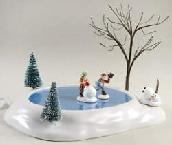 Department 56 General Animated Accessories Building A Snowman - Boxed 11881223