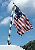 Taylor Made Products 902 Boat Flag Pole Kit Stainless Steel 18 Inch