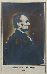 1909 Quill Club Nyc Hotel Astor Meeting W Abraham Lincoln Photo Tipped In