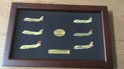Japan Airlines Airplane Boeing 747 Retired Memorial Pin Badge Limited Rare
