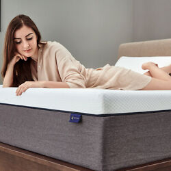 Molblly 10 Inch Full Size Memory Foam Mattress With Pressure Relief Bed In Box