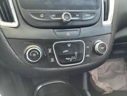 Temp Control 16 Malibu Vin Z 4th Digit New Style W/o Heated And Ventilated Seat