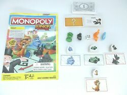 Monopoly Junior 2016 Parts Only, Tokens, Die, Chance, Bank Notes, Sold Signs