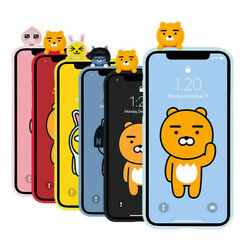 Kakao Friends Korea Art Jelly Figure Case Cover For Samsung Galaxy Note Series