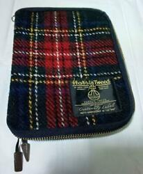 Hobonichi Techo Cover Harris Tweed 100th Anniversary A6 Size Fabric Zippers $95.00