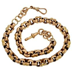 Antique Victorian 9ct Rose Gold Necklace