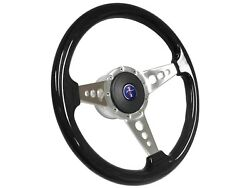 1984 - 2004 Ford Mustang S9 Espresso Steering Wheel Pony Kit