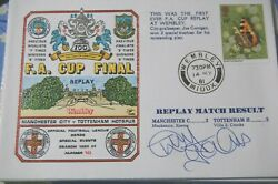 Spurs V Man City 1981 Fa Cup Final Fdc Signed By Tony Galvin
