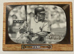 Yadier Molina 2004 Topps Heritage Black And White Rookie Card 30 2353