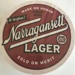 Narragansett Beer Puzzle Coasters Collectible Unopened New Pac Free Shipping Usa