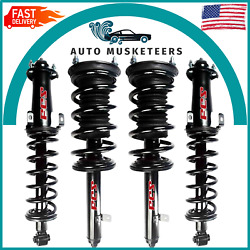 2 Front And 2 Rear Complete Strut And Coil Spring Set 4pcs Fcs For Lexus Is250 Is350