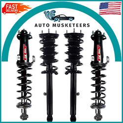 2 Front And 2 Rear Complete Strut And Coil Spring Set Fcs For Lexus Is250 Is350 Rwd