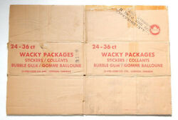 Vintage O-pee-chee Opc Wacky Packages Stickers Empty Wax Box Case