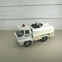 Early Vintage Structo By Ertl Toys Emergency Rescue Squad Truck