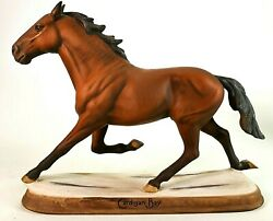 Beswick Connoisseur Horses - Cardigan Bay 2340 And039the Million Dollar Pacerand039