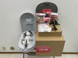 Sony Aibo Ers-1000 Operation Checked White Robot Dog With Box Excellent F/s