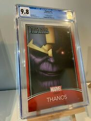 Thanos 13 Cgc 9.8 Trading Card Variant - 1st App Cosmic Ghost Rider
