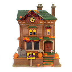 Department 56 House Monster Mash Party House Ceramic Animated Music 6000659