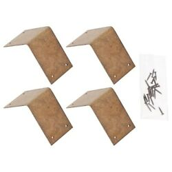 4pcs Simple Durable Chinese Joint Fasteners Corner Fasteners