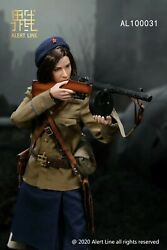 """Alert Line Nkvd 1/6 Scale Wwii Soviet Army 12""""female Action Figure Doll Toy"""
