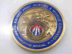 United States Army Aviation Missile Command Redstone Arsenal Challenge Coin