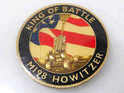 Spanish Fork Camp Williams King Of Battle M198 Howitzer Challenge Coin
