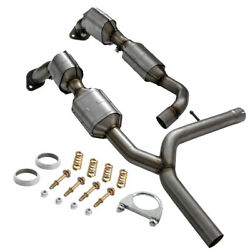 Bank 1 + Bank 2 Catalytic Converter Exhaust Y-pipe For Lincoln Mark Lt 5.4l 2006