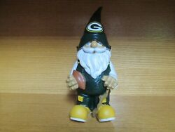 Green Bay Packers 11.5 Tall Nfl Team Garden Gnome Forever Collectibles Figurine