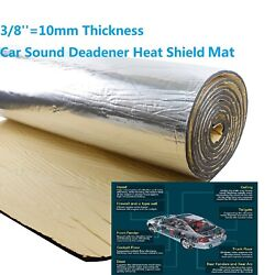 180and039and039x39and039and039 Heavy Duty Sound Deadening Material Heat Shield Mat Insulation 50ftandsup2