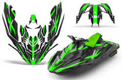 Jet Ski Graphics Kit Decal Wrap For Sea-doo Bombardier Spark 2 Up 14-18 Zooted G