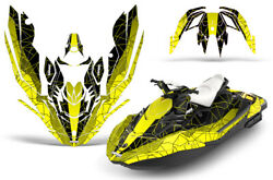 Jet Ski Graphics Kit Decal Wrap For Sea-doo Bombardier Spark 2 Up 14-18 Geo Y