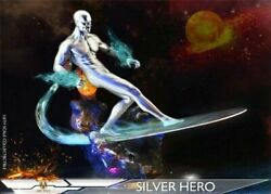 Add Toys 1/6 Silver Surfer Norrin Radd Super Hero Deluxe Ver 12figure Doll Toy