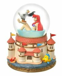 Disney Store Japan The Little Mermaid Ariel And Scuttle Snow Globe Usa Shipped