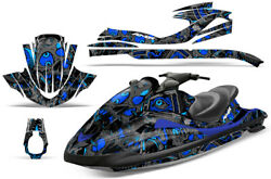 Jet Ski Graphics Kit Decal Wrap For Yamaha Wave Runner Fx140 02-05 Tune In Blue