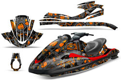 Jet Ski Graphics Kit Decal Wrap For Yamaha Wave Runner Fx140 02-05 Tune In Orng