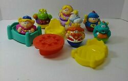 Playskool Weeble Wobble Replacement Castle Horse And Figures Set Of 6