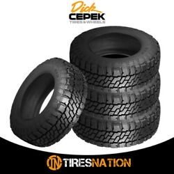 4 New Dick Cepek Trail Country Exp Lt295/70r17/10 Tires
