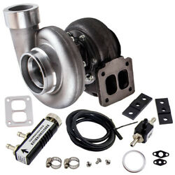 Gt45 Turbocharger T4 V-band 1.05 A/r 78trim 600+hp Boost+ Boost Controller Turbo