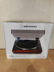 Audio-technica /at-lp60x Rd [red] Vm Cartridge Phono Equalizer Record Player