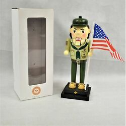 Boy Scouts Of America 2013 Boy Scout Nutcracker With Movable Mouth In Box