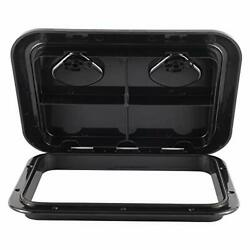 Yaemarine 17-1/4x12-3/8and039and039 Marine Boat Deck Access Hatch And Lid Black 440mm X ...